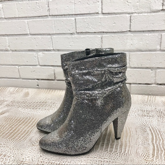 hot-selling discount online here limited style New Look Wide Fit Slouch Glitter Ankle Boot